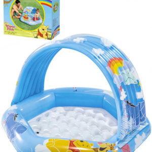 INTEX Baby bazének Medvídek Pú se stříškou 109x102x71cm brouzdaliště 58415