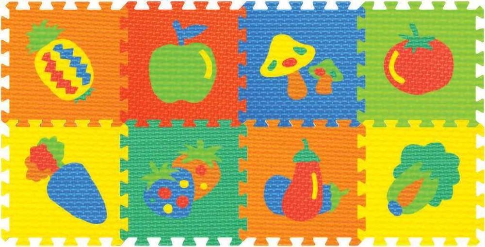 80f349f09 Baby koberec (pěnové puzzle na zem) ovoce, zelenina měkké bloky set 6ks
